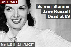 Jane Russell Dead at 89: Bombshell Brunette Starred in '40s, '50s Hits