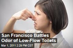 San Francisco Low-Flow Toilets: City Investing in $14 Million of Bleach to Fight Smell