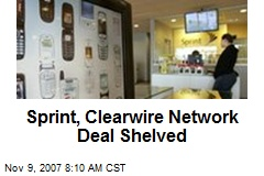 Sprint, Clearwire Network Deal Shelved