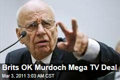 News Corp Wins Approval for BSkyB Deal; Sky News to Be Spun Off