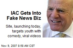 IAC Gets Into Fake News Biz