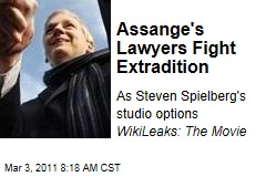 Julian Assange's Lawyers Fight Extradition
