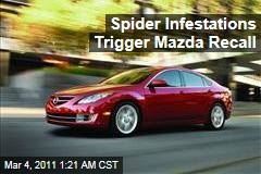 Mazda Recall Ordered After Spider Infestation