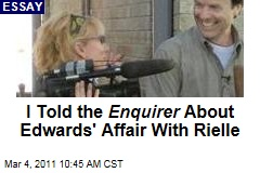 John Edwards Affair: Rielle Hunter's Friend Piegon O'Briend Reveals How She Leaked Story to National Enquirer