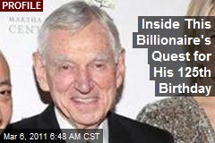 Inside This Billionaire's Quest for His 125th Birthday