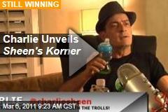 Charlie Sheen Unveils 'Sheen's Korner'