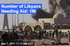 UN: 1M Need Aid in Libya; Moammar Gadhafi Associate's Calls for Dialogue Rejected