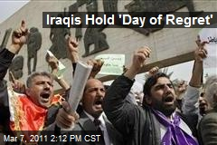Iraqis Hold 'Day of Regret'