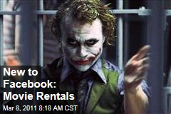 Facebook Movie Streaming: Warner Bros Rolls Out New Service With 'Dark Knight'