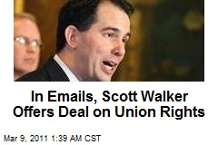 Wisc. Gov Offers Compromise on Union Rights