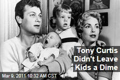 Tony Curtis Disinherited All Five Children Months Before Death