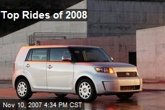 Top Rides of 2008