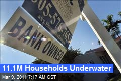 11.1M Households Underwater