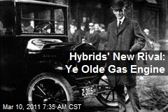 Hybrids' New Rival: Ye Olde Gas Engine