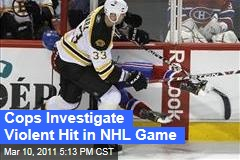 Montreal Police Open Investigation into Zdeno Chara's Hit of Max Pacioretty
