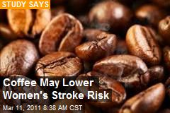 Coffee May Lower Women's Stroke Risk