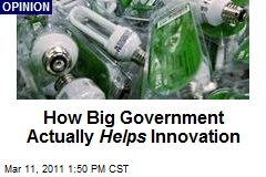 How Big Government Actually Helps Innovation