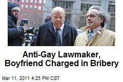 Anti-Gay Lawmaker, Boyfriend Charged in Bribery