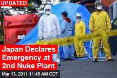Japan Declares Emergency at 2nd Nuke Plant