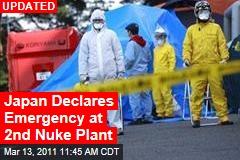 Japan Declares Emergency at 2nd Nuke Plant