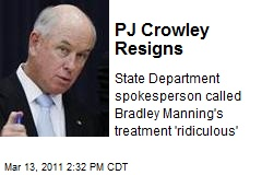 PJ Crowley Resigns