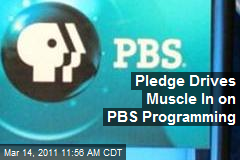 Pledge Drives Muscle In on PBS Programming