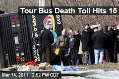 Bronx Tour Bus Crash Death Toll Hits 15