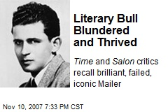 Literary Bull Blundered and Thrived