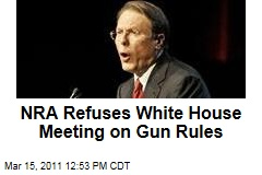 NRA's Wayne LaPierre Refuses Obama Meeting on Gun Rules