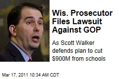 Wisconsin Prosecutor Ismael Ozanne Filed Lawsuit Against GOP