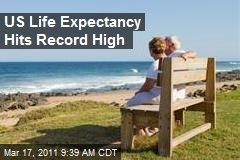 US Life Expectancy Hits Record High