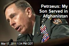 David Petraeus: My Son Stephen Petraeus Served in Afghanistan