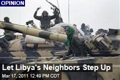 The Arab League Wants a No-Fly Zone in Libya. Great, Let Them Handle It