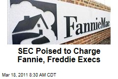 SEC Poised to Charge Fannie Mae, Freddie Mac Executives, but Federal Housing Finance Agency Disagrees: Sources