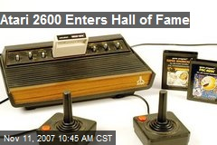 Atari 2600 Enters Hall of Fame