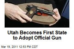 Utah Becomes First State to Adopt Official Gun