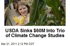 USDA Sinks $60M Into Trio of Climate Change Studies