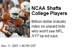 NCAA Shafts College Players