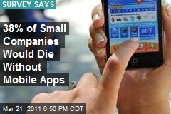38% of Small Companies Would Die Without Mobile Apps