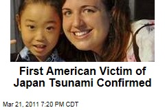 First American Death in Japan Tsunami Confirmed