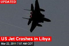 US F-15 Jet Crash Lands in Libya; Both Crew Said to Be Safe