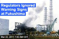 Japan Nuclear Crisis: At Fukushima Dai-ichi Nuclear Plant, Regulators Granted Extension Despite Warning Signs
