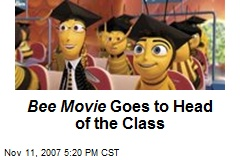 Bee Movie Goes to Head of the Class