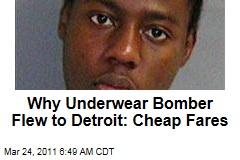 Underwear Bomber Umar Farouk Abdulmutallab Chose Detroit Flight Because It Was Cheap