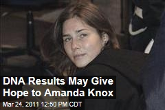 Amanda Knox: Lawyers Say DNA Tests on Murder Weapon Are Good News