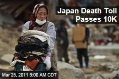 Japan Earthquake, Tsunami Death Toll Passes 10K