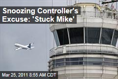 Air Traffic Supervisor Who Fell Asleep on the Job Has Been Suspended
