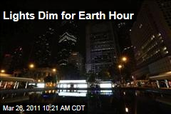 Earth Hour: Lights Dim at 8:30pm Around the World