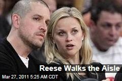 Reese Witherspoon Marries Jim Toth