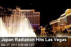 Japan Radiation Hits Las Vegas